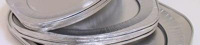 Aluminium schalen ovaal