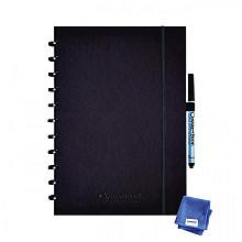 Notitieboek Correctbook A4 lijn 40blz premium ink black