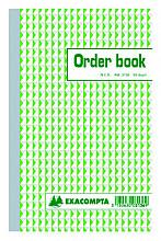 Orderboek Exacompta 210x135mm 50x2vel