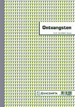 Kasboek Manifold ontvangsten dupli 50vel