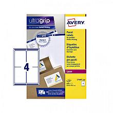 Etiket Avery L7169-250 99.1x139mm wit 1000stuks