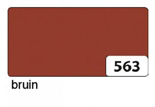 Etalagekarton folia 48x68cm  380gr nr563 bruin
