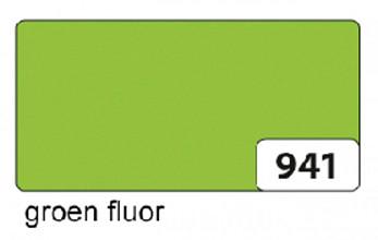 Etalagekarton folia 48x68cm 380gr nr941 fluor groen