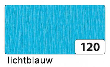 Crepepapier Folia 250x50cm nr120 lichtblauw