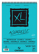 Aquarelblok Canson XL A4 30v 300gr spiraal