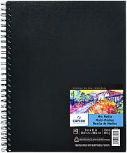 Tekenboek Canson Art 22.9x30.5cm 40v 224gr spiraal