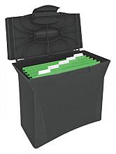 Hangmappenkoffer Esselte Vivida zwart