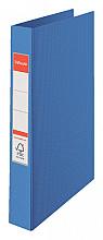 Ringband Esselte Vivida A4 4-rings O-mech 25mm PP blauw