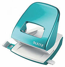Perforator Leitz WOW NeXXt 2-gaats ijsblauw