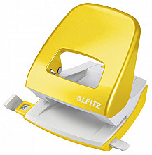 Perforator Leitz WOW NeXXt 2-gaats geel