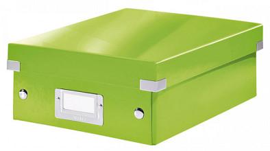 Sorteerbox Leitz WOW Click & Store 220x100x282mm groen