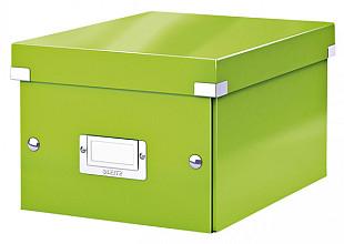 Opbergbox Leitz WOW Click & Store 220x160x282mm groen