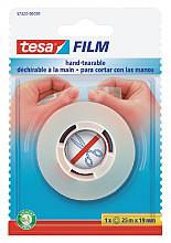 Plakband Tesa film 19mmx25m handinscheurbaar blister