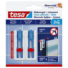 Klevende spijker Tesa voor canvas op tegels en metaal 2kg