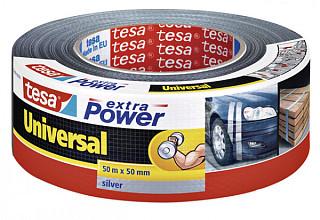 Plakband Tesa 50mmx50m extra Power grijs