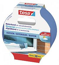 Afplaktape Tesa Precision 38mmx25m outdoor