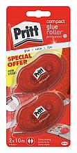 Lijmroller Pritt Compact permanent 2e halve prijs op blister
