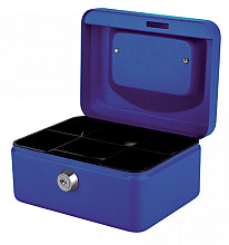 Geldkist Quantore 150x115x80mm blauw