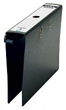 Hangordner Elba Rado 75mm karton zwart gewolkt