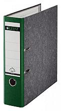 Ordner Leitz A4 80mm groen gewolkt