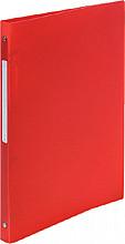 Ringband Exacompta A4 4-rings O-mech 15mm PP rood