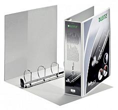 Presentatieringband Leitz SoftClick A4 Maxi 4-rings D-mech 50mm wit