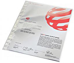 Showtas Leitz 4734 4-gaats 0.08mm PVC glashelder