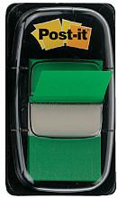 Indextabs 3M Post-it 680 25.4x43.2mm groen