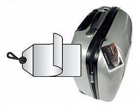 Label bagage 3L 11120 72x123mm 10 stuks