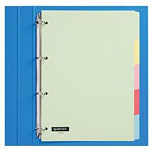 Tabbladen Quantore 4-gaats 5-delig assorti karton