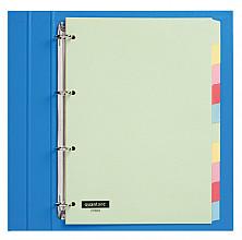 Tabbladen Quantore 4-gaats 10-delig assorti karton