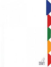 Tabbladen Kangaro 4-gaats PK405 5-delig karton wit