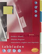 Tabbladen Multo A4 23R karton 10-delig assorti