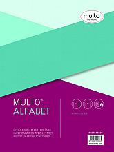 Tabbladen Multo A4 23-gaats 20-delig A-Z grijs