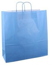 Papieren koordtas 45x17x47cm 50st blauw