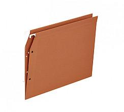 Hangmap Medium Flex A4 V-bodem karton oranje