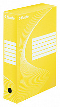 Archiefdoos Esselte Boxycolor 80mm geel