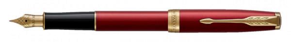 Vulpen Parker Sonnet red lacquer GT M