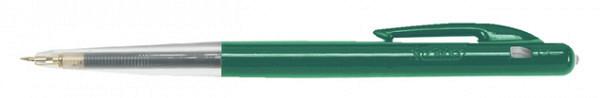 Balpen Bic M10 groen medium