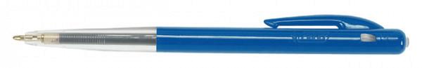Balpen Bic M10 + EAN-code per stuk blauw medium