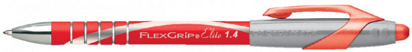 Balpen Paper Mate Flexgrip Elite rood breed