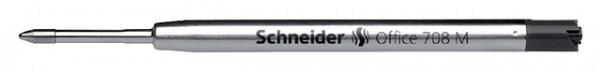 Balpenvulling Schneider Jumbo 7081 tbv Parker zwart medium