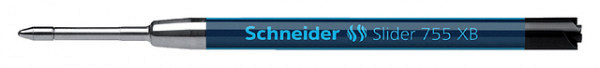 Balpenvulling Schneider Slider Jumbo 755 zwart extra breed