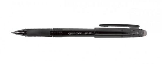 Gelschrijver Quantore erasable 0.7mm zwart