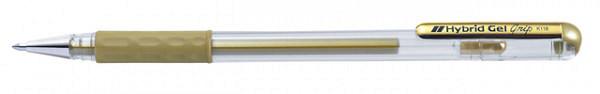 Gelschrijver Pentel K118 goud 0.3mm