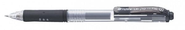 Gelschrijver Pentel K157 zwart 0.4mm
