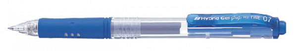 Gelschrijver Pentel K157 blauw 0.4mm