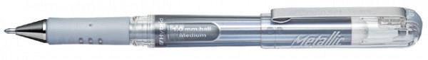 Gelschrijver Pentel K230M zilver 0.4mm