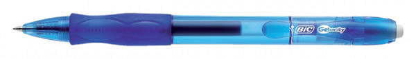 Gelschrijver Bic Gelocity blauw medium
