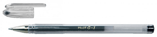 Gelschrijver PILOT G1 zwart 0.32mm